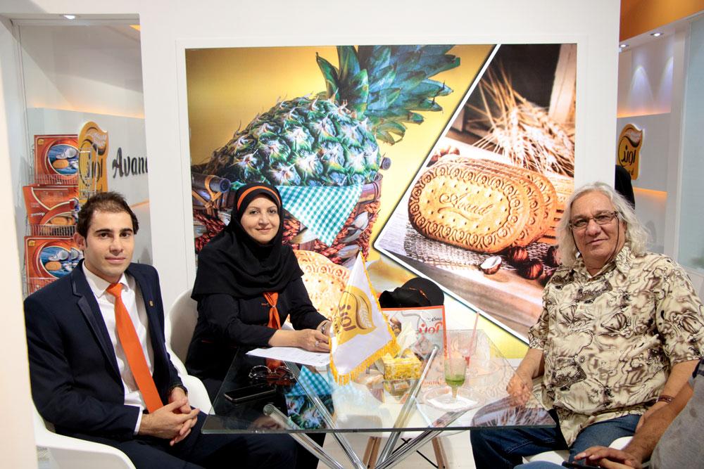 نمایشگاه بین المللی تهران-نگین عسل - بیسکویت آوند